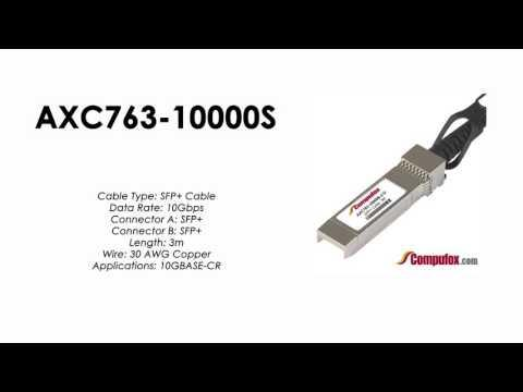 AXC763-10000S  |  Netgear Compatible 3m Direct Attach SFP+ Cable