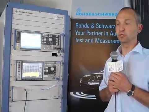 Rohde & Schwarz: TS-ITS100 RF Conformance Test System
