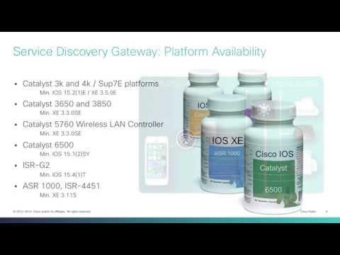 Cisco IOS Service Discovery Gateway Episode 2: Turn It On!