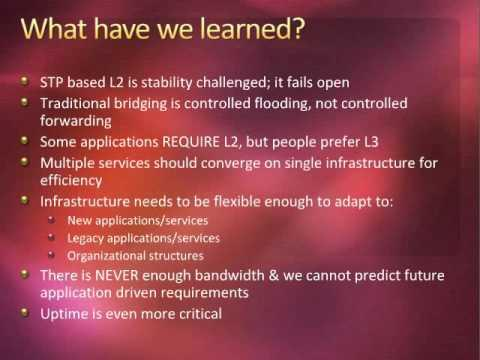 Interop Webcast:Data Centers Then And Now:What Has Changed, What Have We Learned, And What's Next