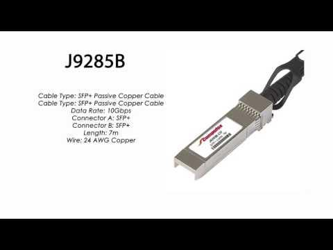 J9285B     HP Compatible SFP+ Passive Copper Cable 7m