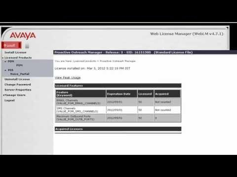 How To Debug Licensing Issues For Avaya Proactive Outreach Manager (POM)