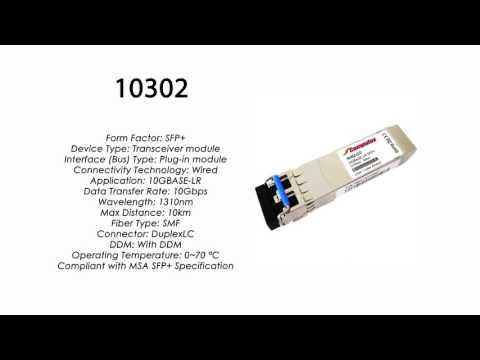 10302  |  Extreme Networks Compatible 10GBASE-LR SFP+ 1310nm 10km SMF