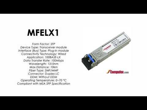 MFELX1  |  Linksys/Cisco Compatible 100Base-LX 1310nm 10km SFP