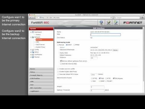 Cookbook - Installing Dual Internet