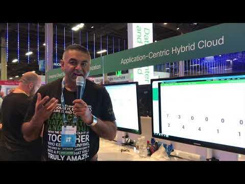 Cisco Live 2017: Application Centric Hybrid Cloud Demo