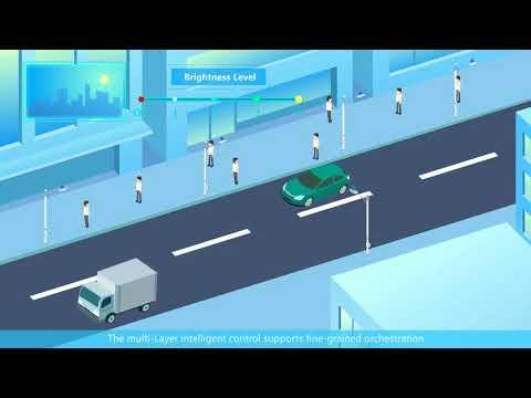How To Light Up Smart Cities — Huawei Connected City Lighting Solution