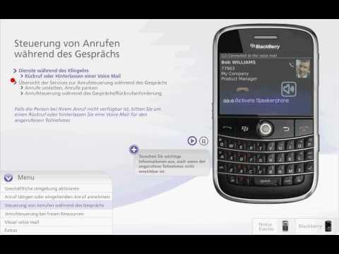 Alcatel-Lucent OmniTouch 8620 MyInstant Communicator Mobile Für Blackberry - German