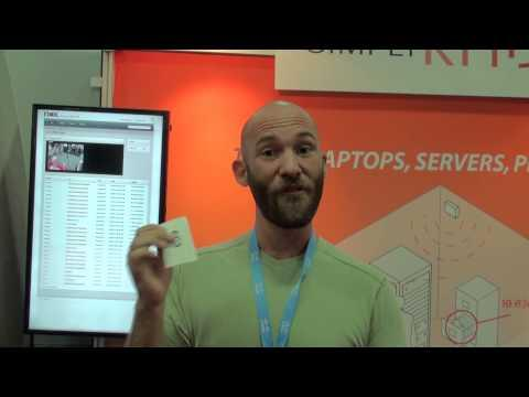 SimplyRFiD Video Based RFID Tracking - InterOp 2013 Booth Crawl