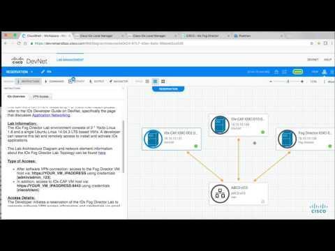 Using IOx Sandbox In Cisco DevNet