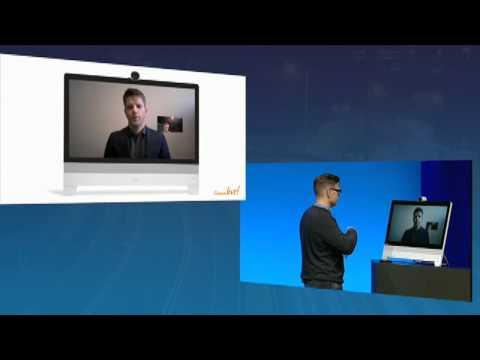 Cisco DX Series Demo: Cisco Live, Rowan Trollope Collaboration Keynote