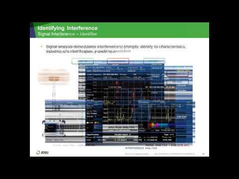 JDSU Webinar: Maximizing Your Wireless Network By Detecting, Identifying, Locating RF Interference