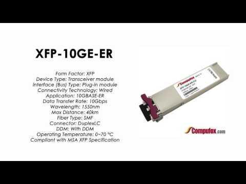 XFP-10GE-ER | Redback Compatible 10GBASE-ER XFP 1550nm 40km SMF