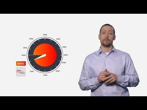 Chalk Talk: WaveLogic 5 For 400GbE At Any Distance With Programmable 800G