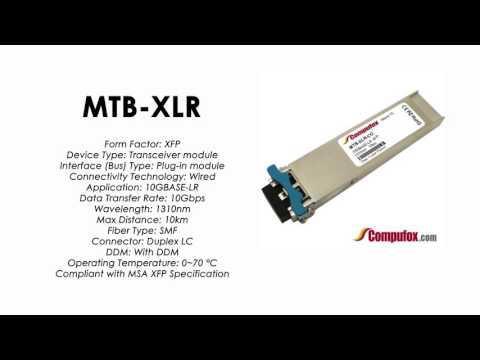 MTB-XLR     Planet Compatible 10GBase-LR 1310nm 10km XFP