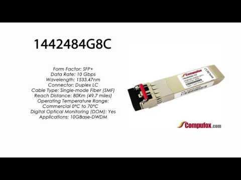 1442484G8C  |  Adtran Compatible 10GBase-DWDM 1533.47nm 80km SFP+