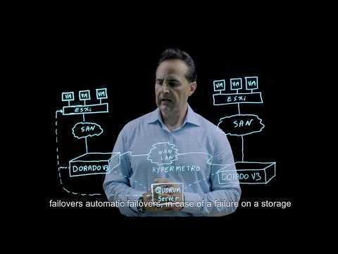 Huawei OceanStor Dorado V3 HyperMetro Active-Active Solution