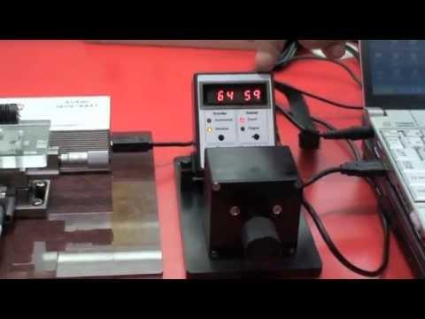 AEAT-6600 Magnetic Encoder Demo