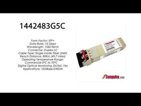 1442483G5C  |  Adtran Compatible 10GBase-DWDM 1542.94nm 80km SFP+