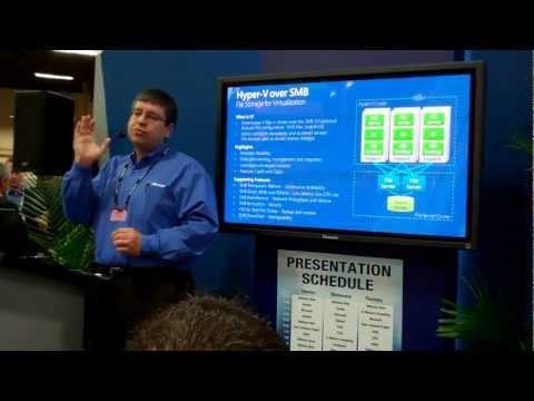 Mellanox @ Interop Las Vegas 2012 - Microsoft Presenting