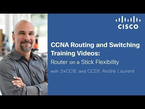 Router On A Stick Cisco Training Videos
