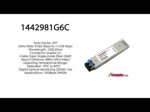 1442981G6C | Adtran Compatible 10G DWDM XFP 1556.55nm 80km LC