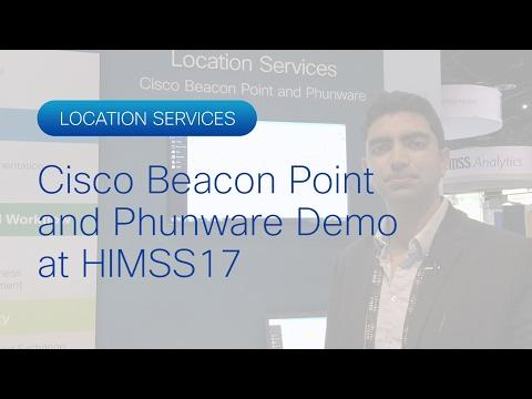 Cisco Location Services Demo At HIMSS17