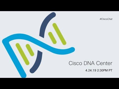#CiscoChat Live: Cisco DNA Center