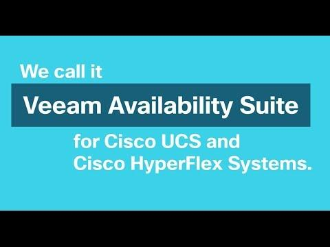 Veeam With Cisco UCS And HyperFlex