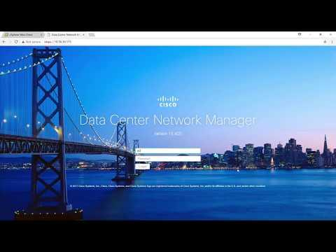 Demo: Installing Cisco DCNM OVA, Release 10.4(2)