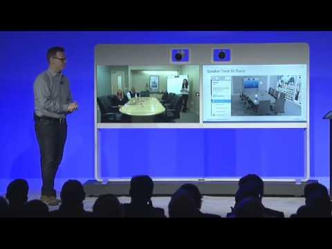 Cisco Partner Summit 2014 Collaboration Breakout Demo: TelePresence MX700