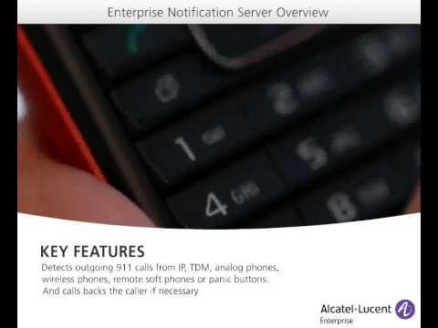 Emergency Notification Server Demo