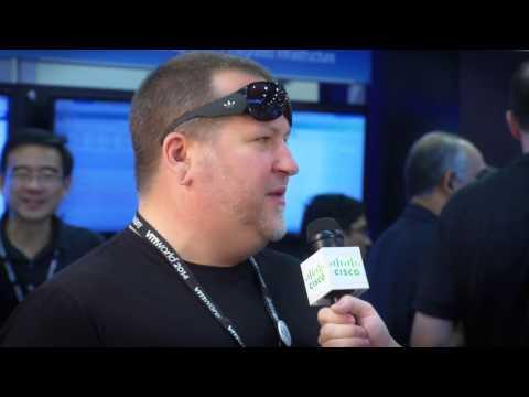 Cisco Roving Reporter Malhoit And Shane Weinbrecht Talk About Hyper-convergence At VMworld 2014