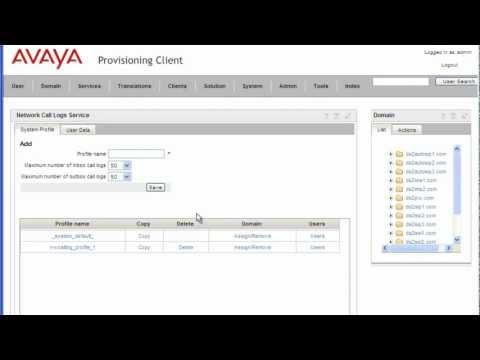 How To Configure Network Call Log Service On The Avaya AS5300