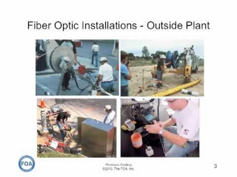 Premises Cabling Lecture 9: Fiber Optics In Premises Cabling