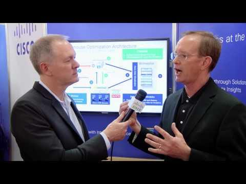 Bob Eve Of Cisco's Data And Analytics Business Group Discusses Data Warehouse Optimization Solution