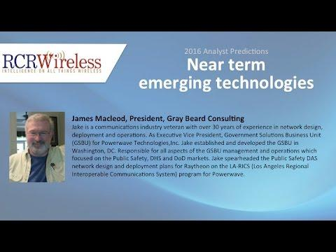 Near Term Emerging Technologies - Jake Macleod, Gray Beards Consulting