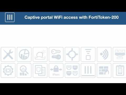 Captive Portal WiFi Access With FortiToken 200 5 4