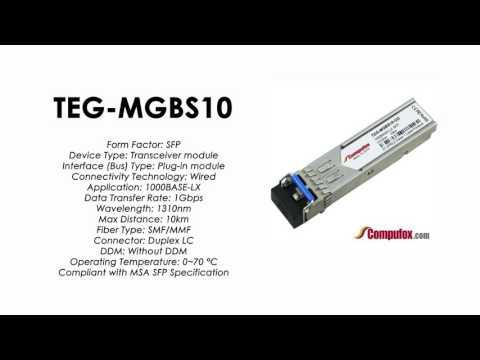 TEG-MGBS10  |  TRENDnet Compatible 1000Base-LX 1310nm 10km SFP