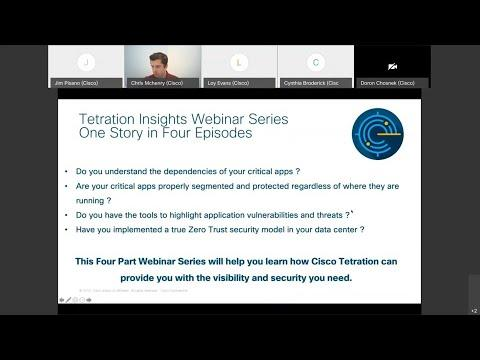 Cisco Tetration: Breach Forensics And Threat Intelligence