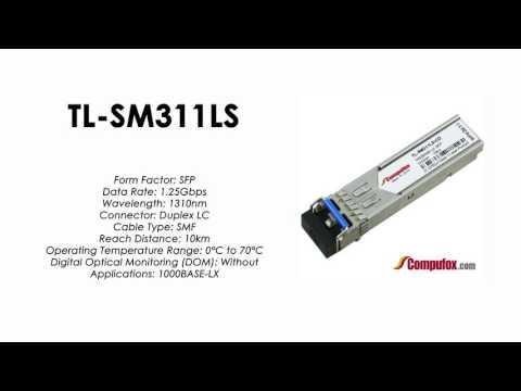 TL-SM311LS     TP-Link Compatible 1000Base-LX 1310nm 10km SFP