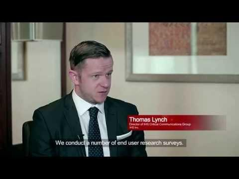 Analyst IHS Thomas Lynch Speaks About LTE In Critical Communications