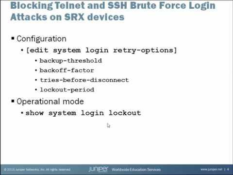 Brute Force Login Attack Prevention
