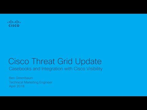Cisco Threat Grid Update - New Dashboard And Sample Manager