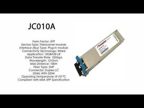 JC010A  |  HP Compatible 10GBase-LR XFP 1310nm 10km SMF