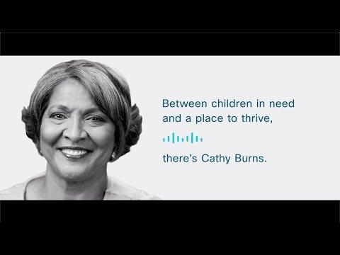 Be The Bridge: Cathy Burns