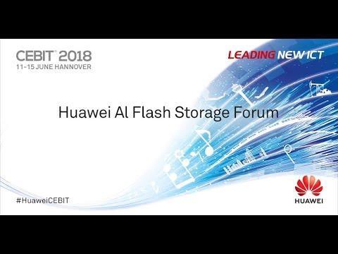 Huawei Al Flash Storage Forum At CEBIT 2018