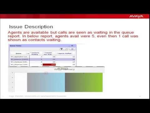 Stuck Call Issue In APCUI Queue Status Report