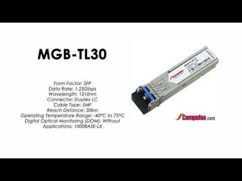 MGB-TL30  |  Planet Compatible 1000Base-LX 1310nm 30km SFP
