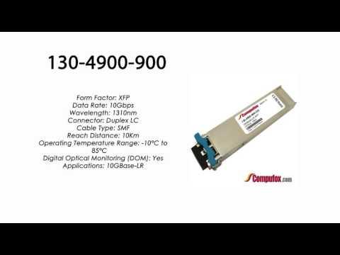 130-4900-900  |  Ciena Compatible 10GBASE-LR XFP 1310nm 10km SMF